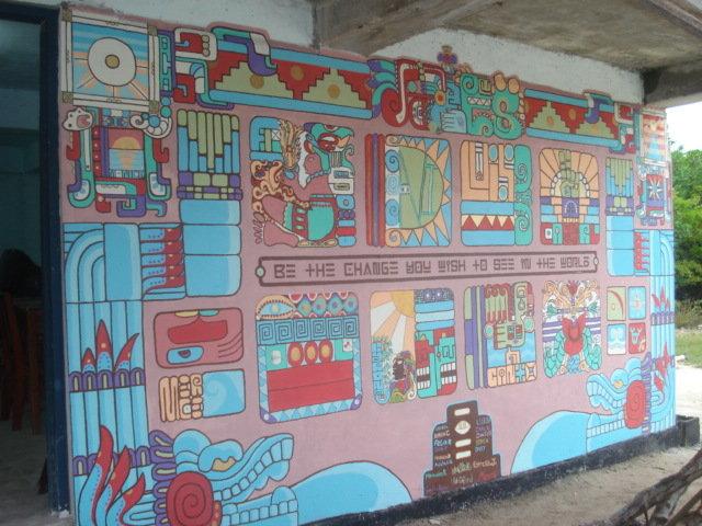 Be The Change...school mural