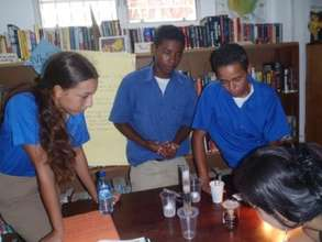 Water purification at Science Fair