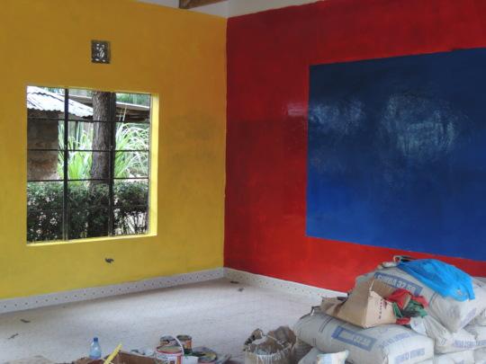 Colourful Classroom Interiors