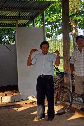 Bienvenido Cruz Castro, President Maleku Council