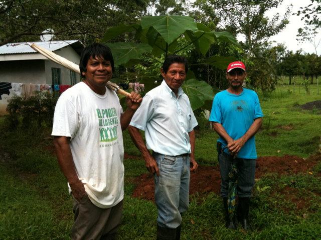 Bienvenido Cruz w/Alfredo Acosta-Tribal Council