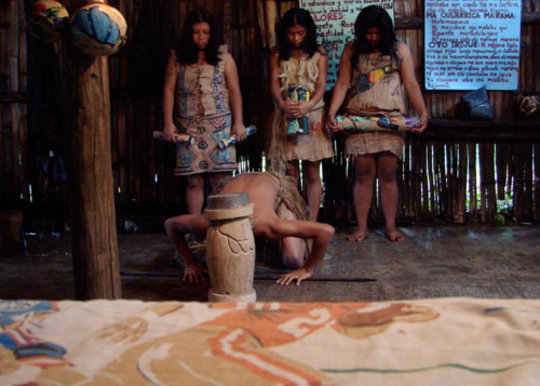 Traditional Earth ceremony for Sole Tech