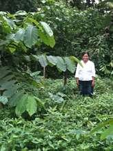 Bienvenido's sister-in-law under a mastate/2012