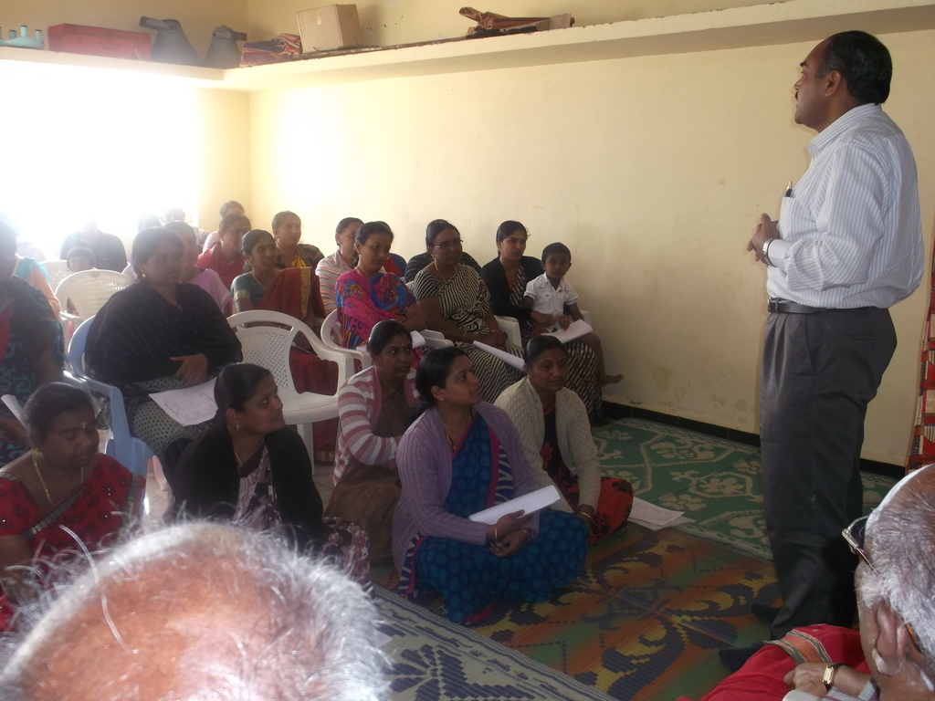 Dr. Ram Explaining general health care