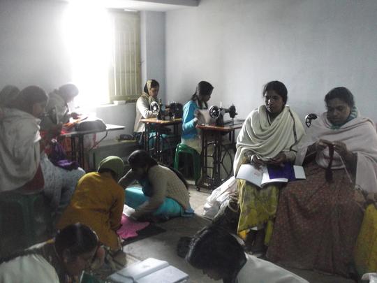 A Tailoring & Knitting Class
