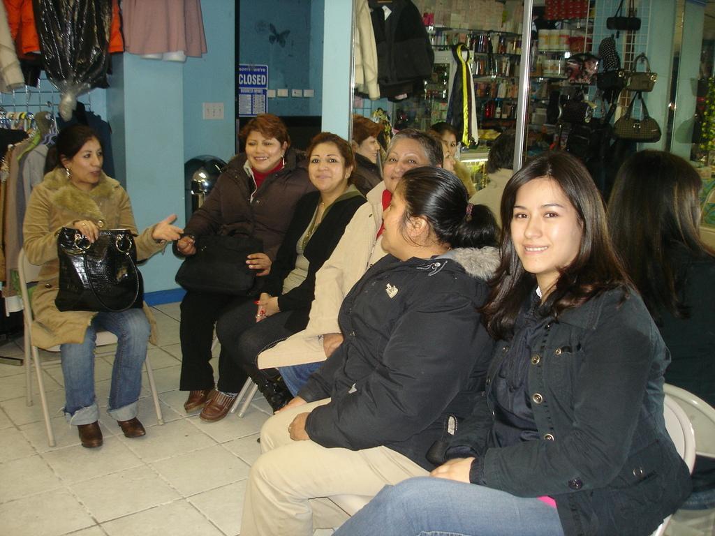 Grameen Center Meeting