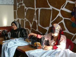 FGC Shelter Clients - Attending Tailoring Class