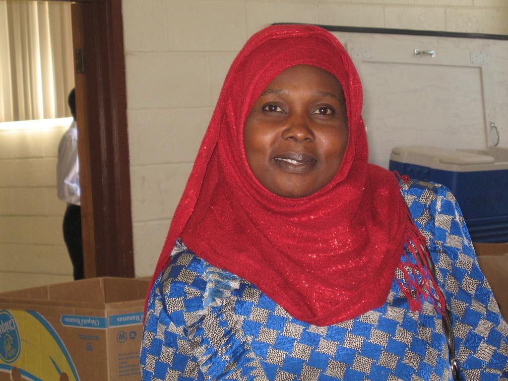 A Darfuri mother