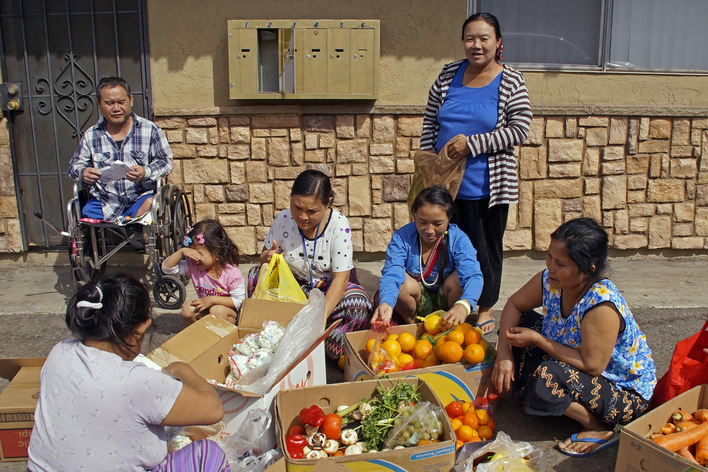 Karen refugees in City Heights San Diego