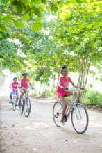 Mariposa bikers exploring Cabarete