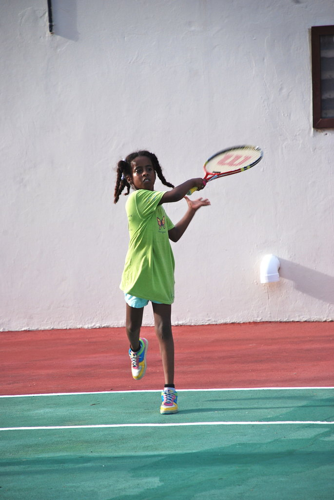 Tennis Class!