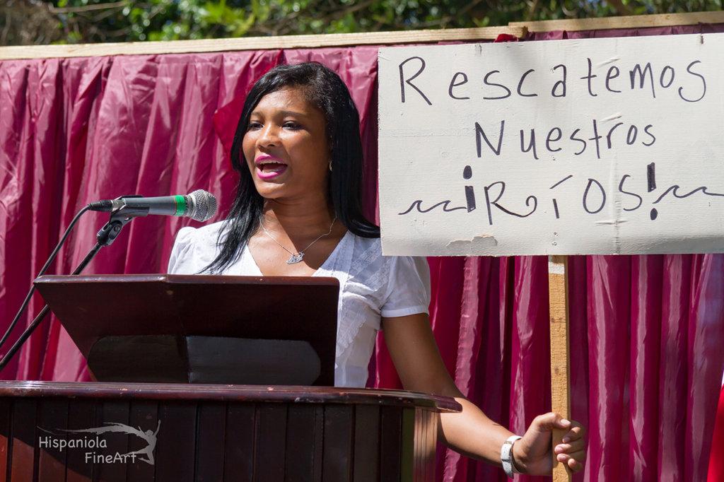 Odalissa as environmental activist Aniana Vargas