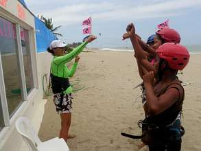 Beginning Kiteboard Lessons