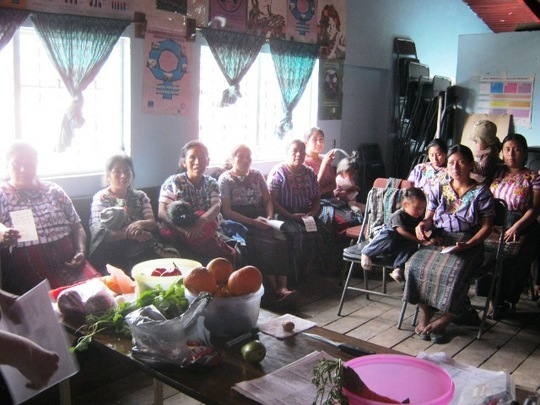 Mothers at Monthly Meeting