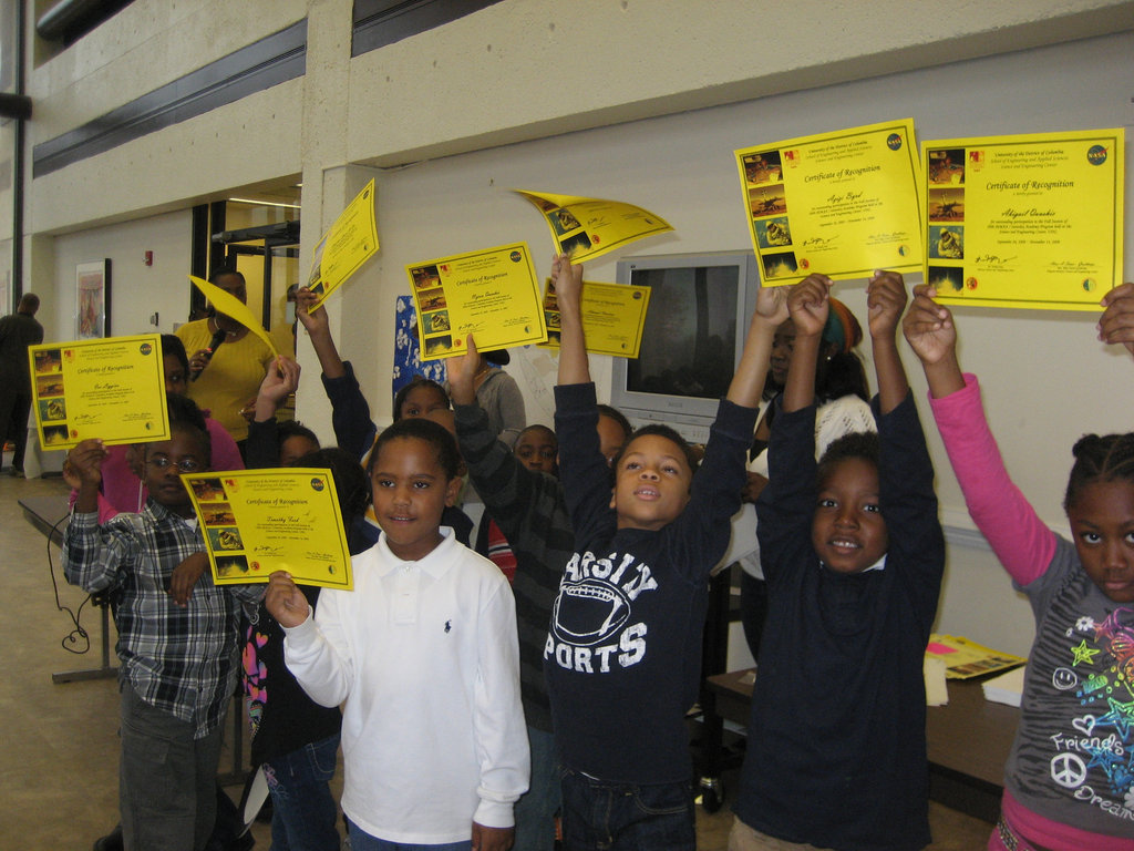 Expose more DC students to Math and Science
