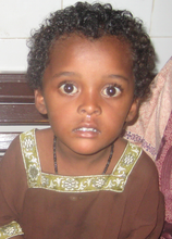 Child with a cold, Gharo