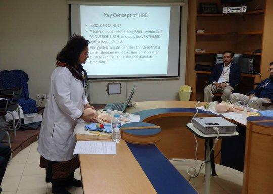 Dr. Naghmana Shafi - HBB Training Session 1