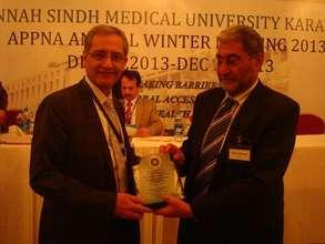 Dr. Salman Naqvi - JSMU - APPNA Dec. 2013