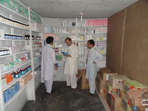 Pharmacy services for patients