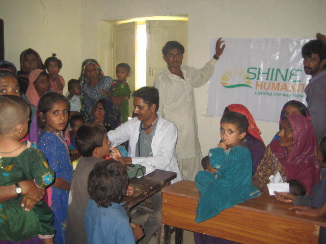SHINE Humanity -Medical Camp, Babra