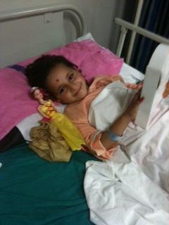 Shabana is making a speedy recovery