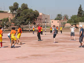 Play time at Abdelmoumen