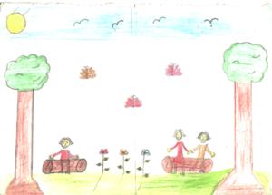 Impressions of the school garden