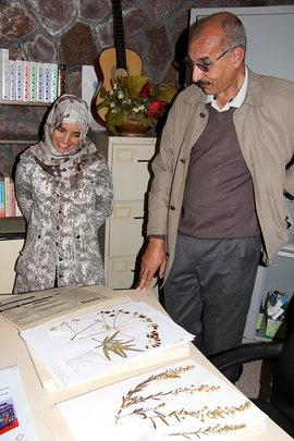 The Dar Taliba herbarium