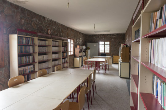 The library awaits young scholars.