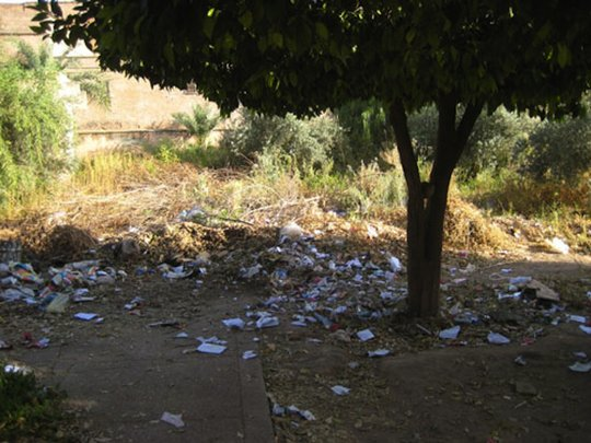 The grounds of the Lalla Aouda Saadia School