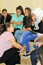 Our kids enjoy their time with Maysoon Zayid