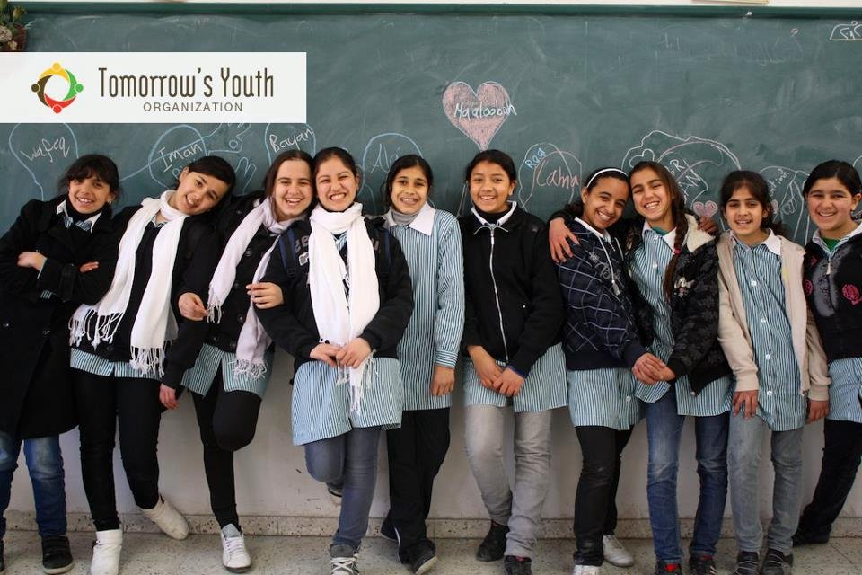 Lovely girls from UNRWA Refugee School in Nablus