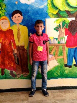Abdulhamdan, 5th grade student
