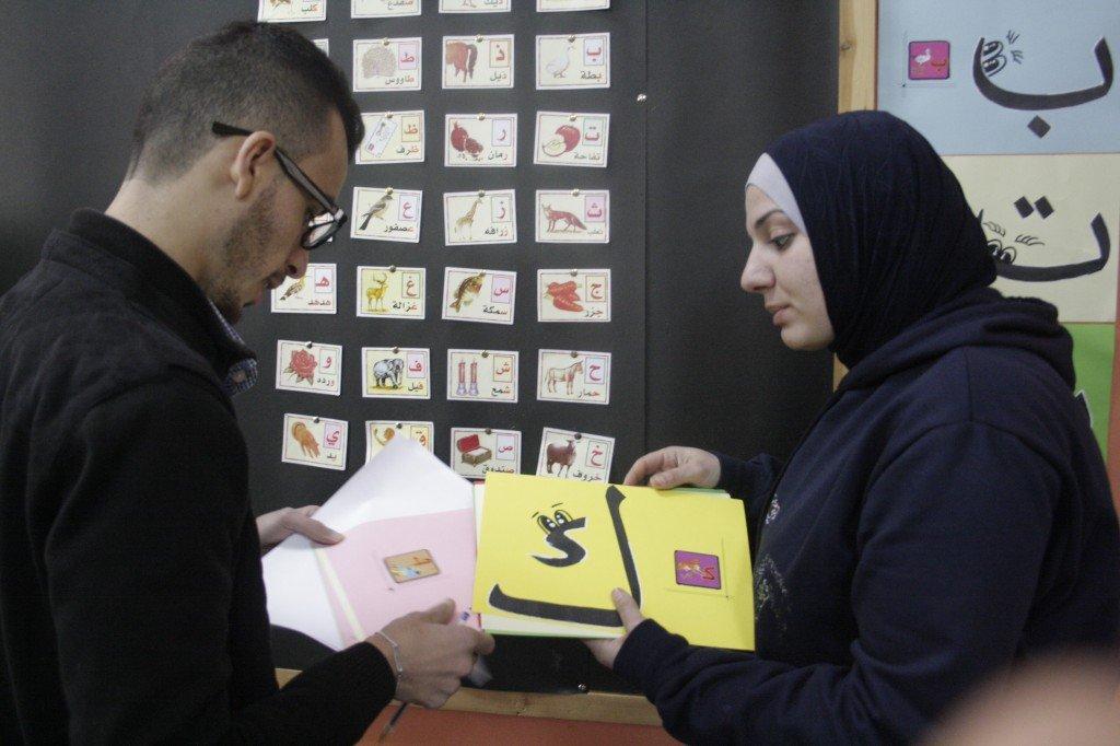 Core teachers Fawz and Ahmad plan an Arabic lesson
