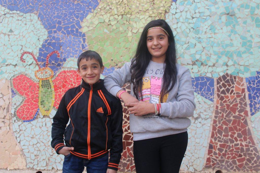 Muhaned and Shaima