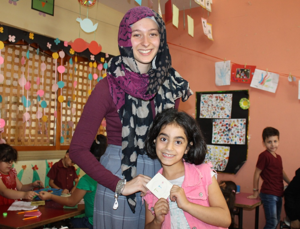 Bring Refugee Children Education and a Smile