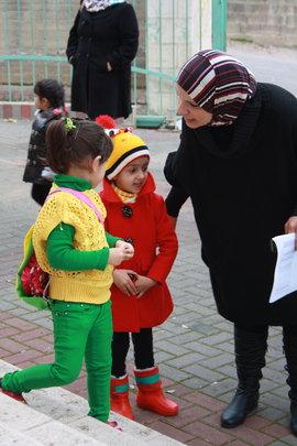 TYO staff welcome children back