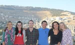 Sarah, Hilary, Jay, Mitch, Mary-Jo, and Hannah
