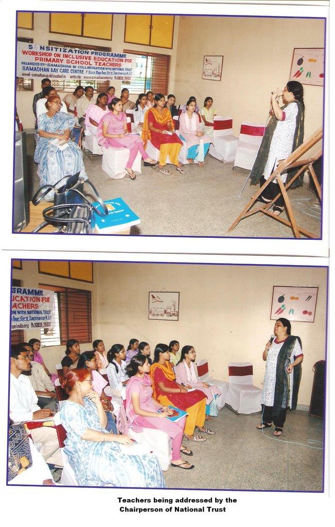 Workshop for teachers of local schools