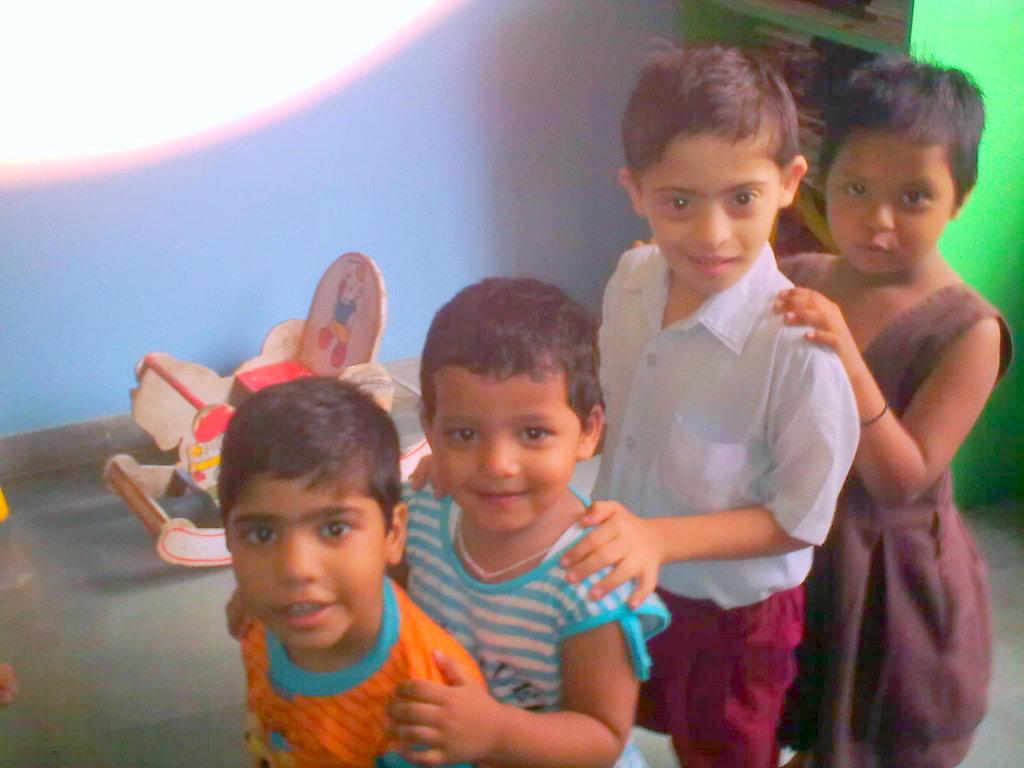 Children at Inclusive Pre-School