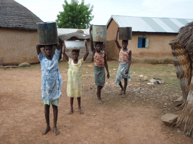 Supply of Purify Drinking Water in Baare Village