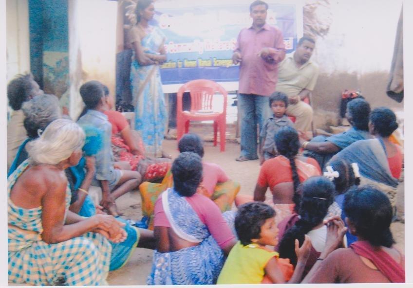 Literacy & health course for 40 untouchable women
