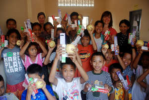 Vulnerable Children Learning to Brush their Teeth