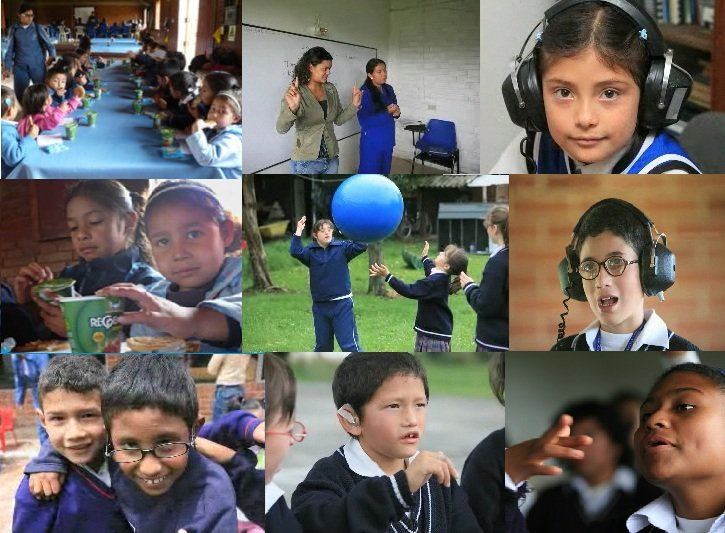 PROVIDE EDUCATION TO 200 POOR DEAF COLOMBIAN KIDS