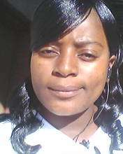 Young Woman Peer Educator. B. Musendo