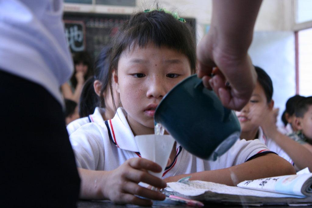 Improve Education by Improving Basic Health, China
