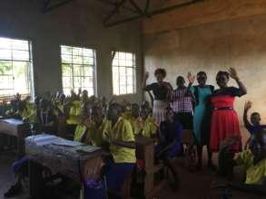 Molding Club members from Gatunga Primary School