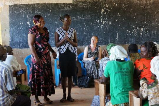 Classroom in Tharaka, Kenya