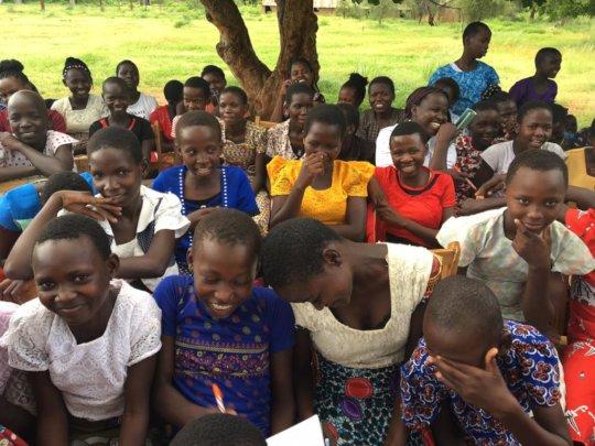 2019 ARP participants smiling in Tharaka, Kenya