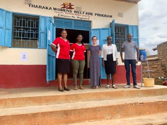WGEP team members in Tharaka-Nithi county, Kenya